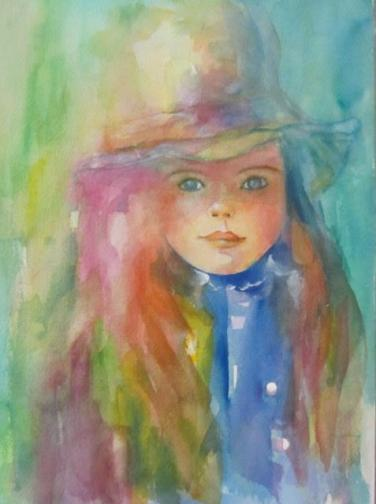 4-GIRL with hat