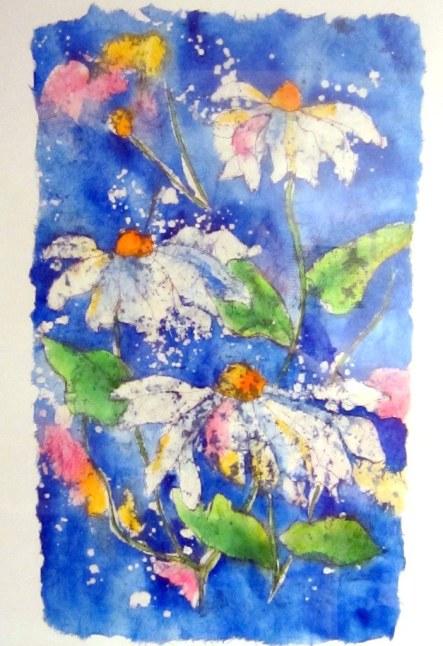 batik daisies